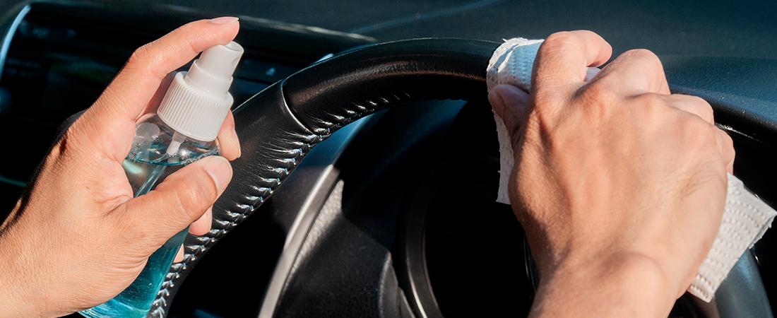 ¿Cómo desinfectar un carro por el coronavirus?