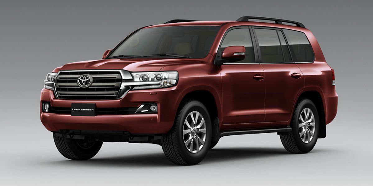 Toyota Land Cruiser Colores