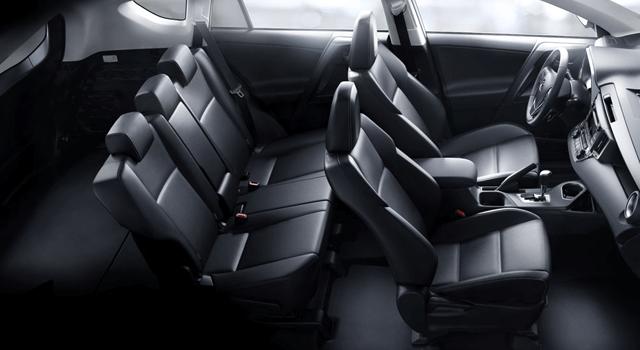 Toyota Rav4 Híbrida Interior