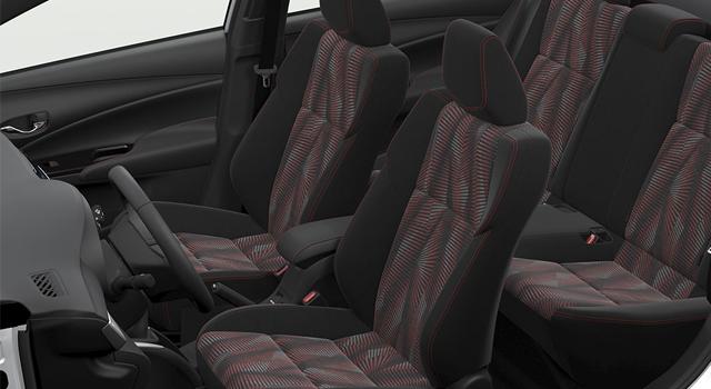 Toyota Yaris Hatchback Interior