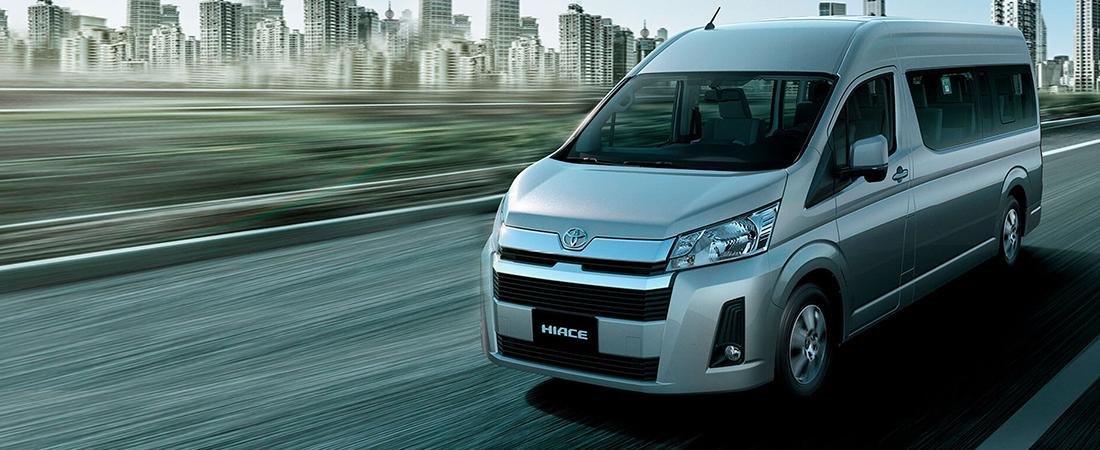 Toyota Hiace un vehículo versátil, práctico y conveniente
