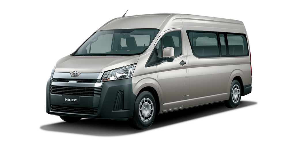 Toyota Hiace Microbus Colores