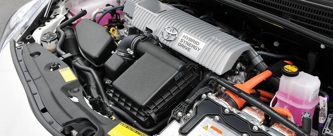 ¿Cómo funciona el motor híbrido de Toyota?
