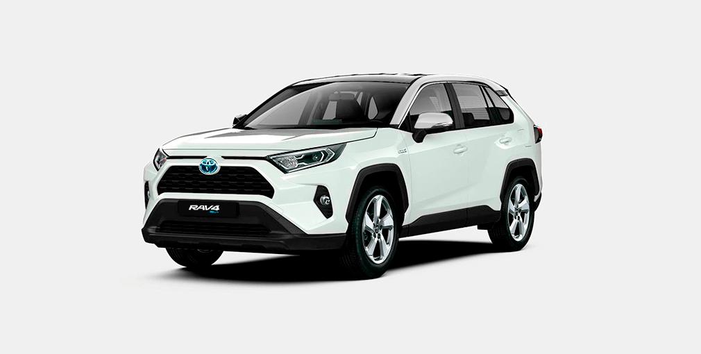 Toyota RAV4 Híbrida 2020 Colores