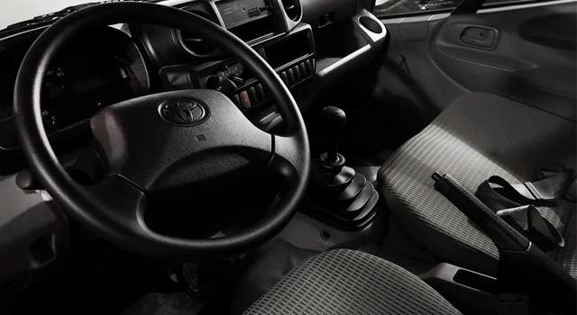 Toyota Dyna Interior